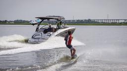 2015 Pro Wakeskater of the Year Danny Hampson Teams Up with Yamaha WaterCraft and the New Yamaha 242X E-Series Boat